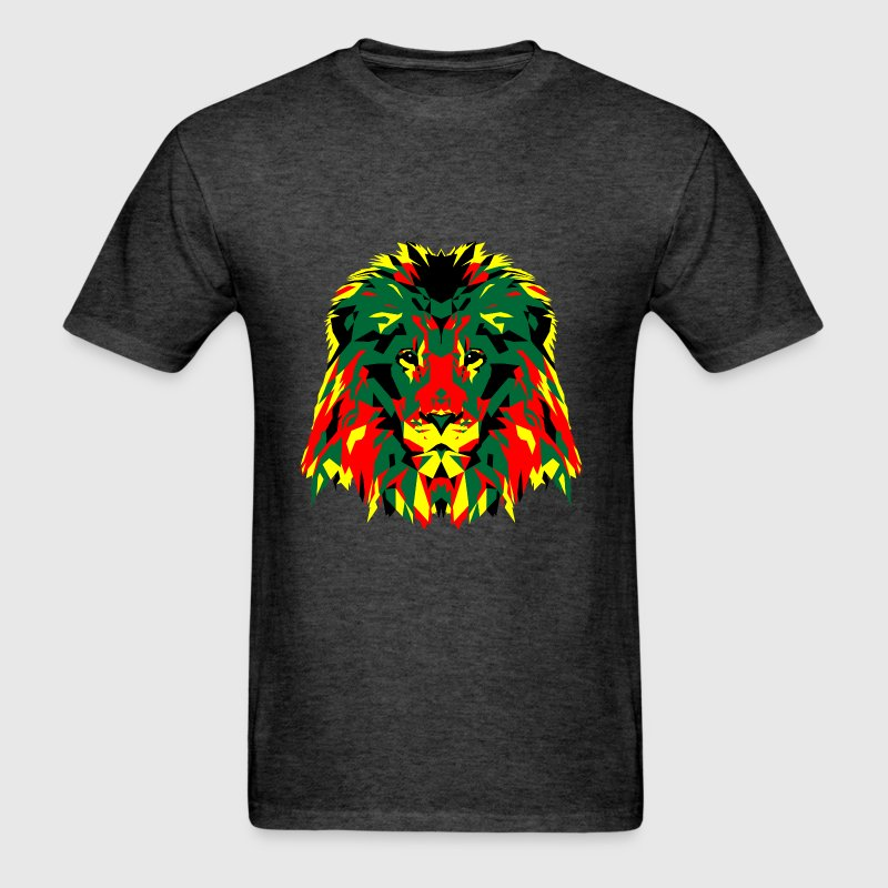 African Lion Poly Art - Men's T-Shirt