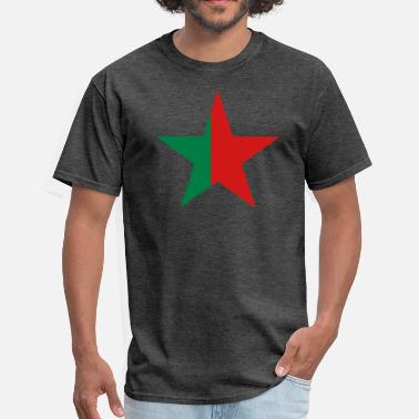 Green Star RED GREEN STAR - Men's T-Shirt