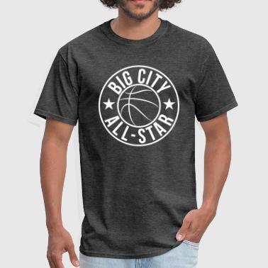 Basketball Big City Star - Men's T-Shirt