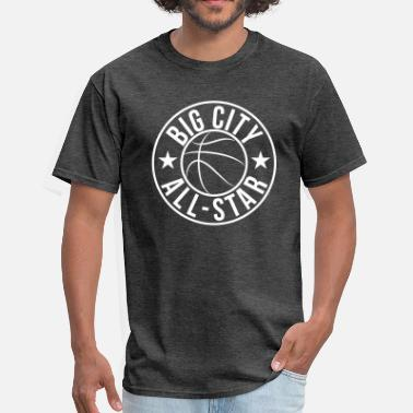 City Stars Basketball Big City Star - Men's T-Shirt