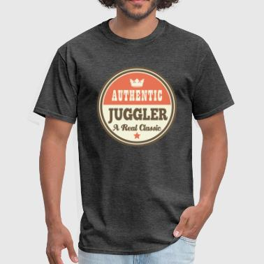 Authentic Juggler Funny Classic - Men's T-Shirt