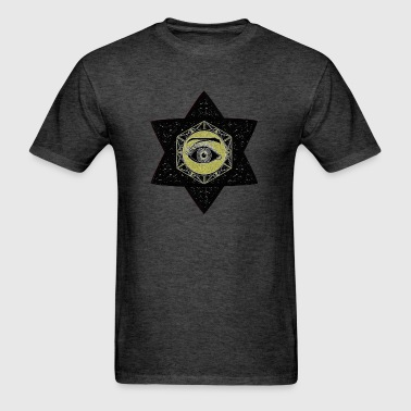 HEXAGONAL EYE FIVE 1 - Men's T-Shirt