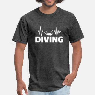 Cliff Diving Diving - Men's T-Shirt