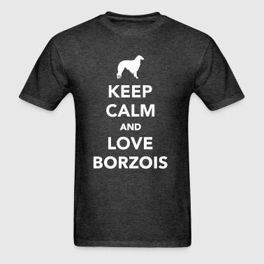 Borzoi - Men's T-Shirt