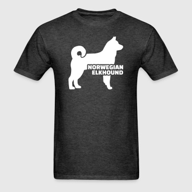Norwegian Elkhound - Men's T-Shirt