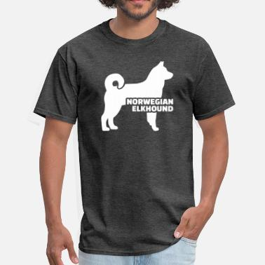 Norwegian Elkhound Norwegian Elkhound - Men's T-Shirt
