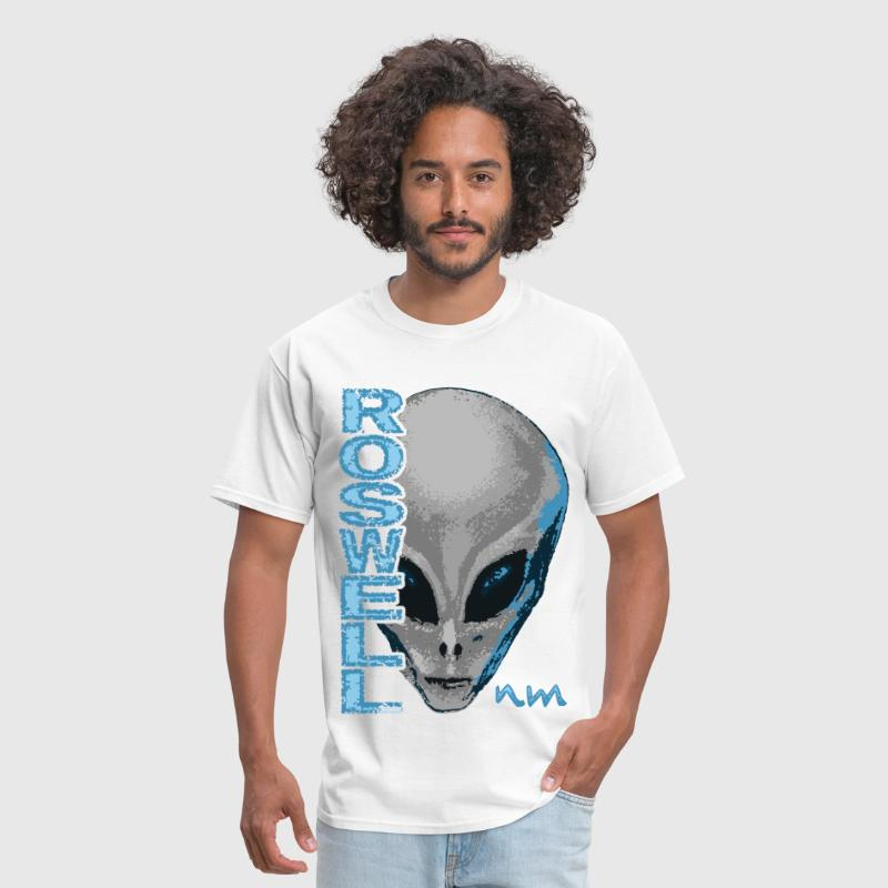 Roswell NM Grey Alien - Men's T-Shirt