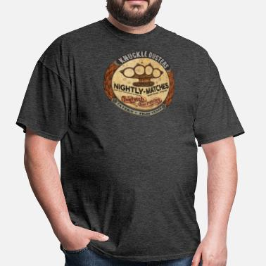 Vintage Bar Knuckle Dusters Bar - Men's T-Shirt