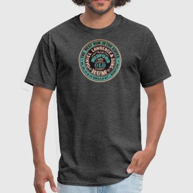 Vintage Boston Rum - Men's T-Shirt