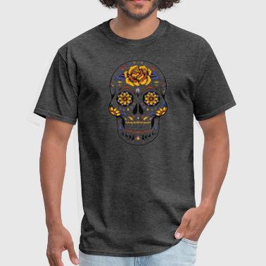 sugar skull 2 - Men's T-Shirt