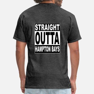 Southampton kneeslap STRAIGHT OUT HAMPTON BAYS - Men's T-Shirt