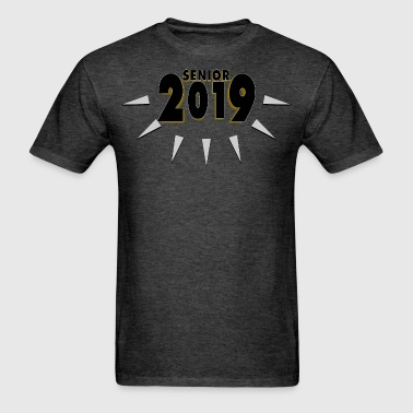 Senior 2019 Fangs - Men's T-Shirt