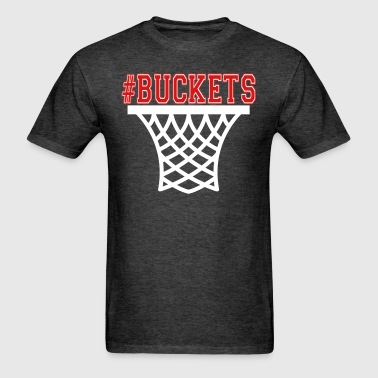 #Buckets Basketball hoop - Men's T-Shirt