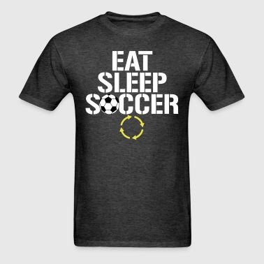 Eat Sleep Soccer Repeat1 - Men's T-Shirt