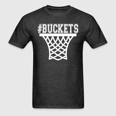 #Buckets Net Basketball - Men's T-Shirt