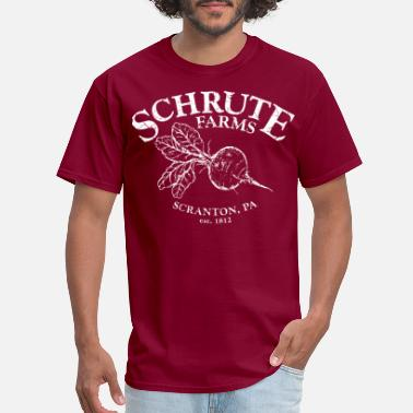 Dwight Schrute Schrute Farms - Men's T-Shirt