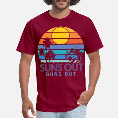 Spring Break Suns Out Guns Out Summer - Men's T-Shirt