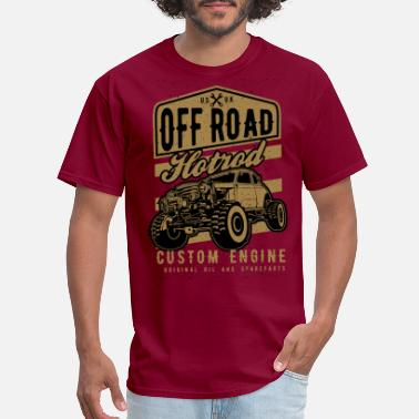 Road Running Off Road - Men's T-Shirt