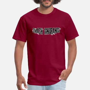 Anti Nazis Smash ignorance - Men's T-Shirt