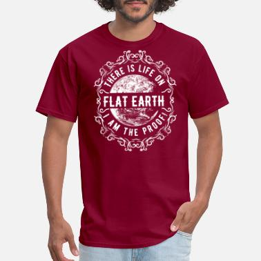 Purpose In Life flat earth shirt - simple shirt for everyone - Men's T-Shirt