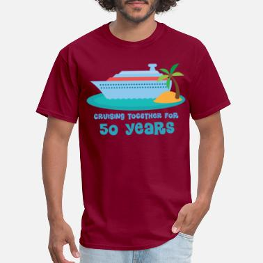 Anniversary 50th Anniversary Cruise - Men's T-Shirt