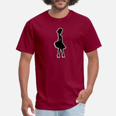 Ladybird Afro Woman Black Hair Style Natural Confident - Men's T-Shirt