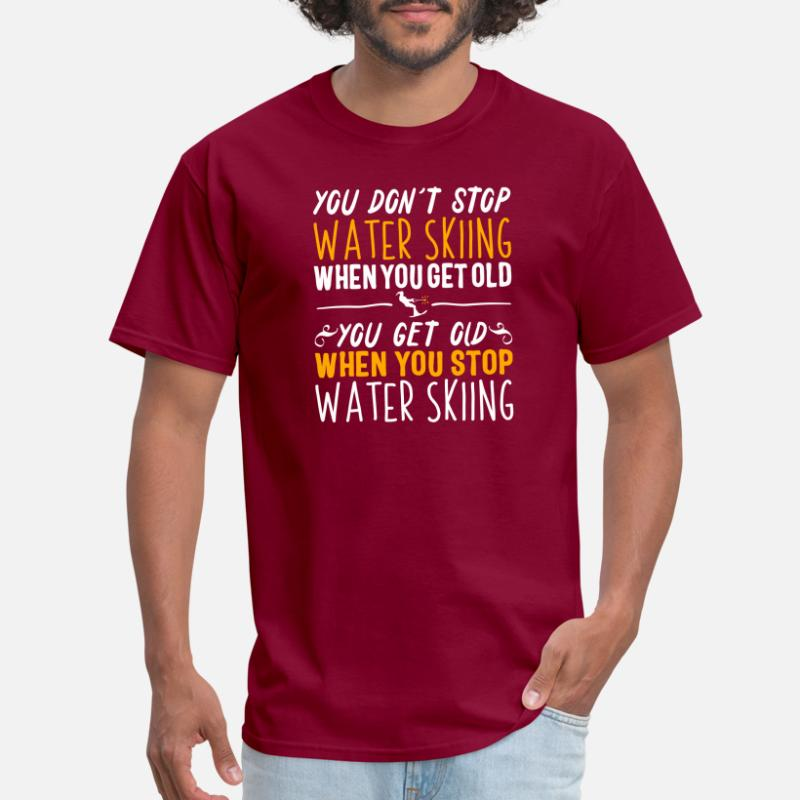811dcafc0 Shop Water Skiing T-Shirts online | Spreadshirt