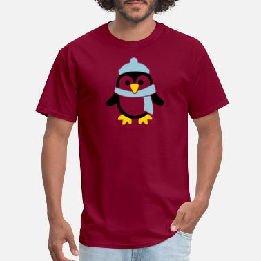Winter Penguin - Men's T-Shirt
