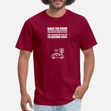 Startup When you know... Life Inspirational Quote - Men's T-Shirt