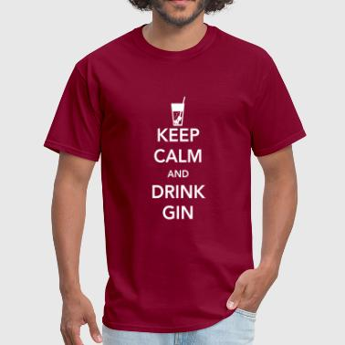 Keep Calm and Drink Gin - Men's T-Shirt