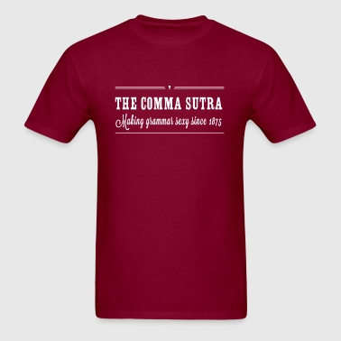 The Comma Sutra - Men's T-Shirt