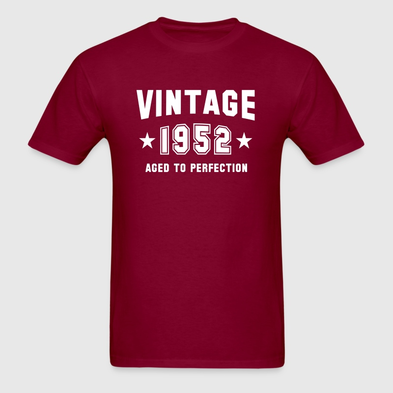 VINTAGE 1952 - Aged To Perfection - Birthday - Men's T-Shirt