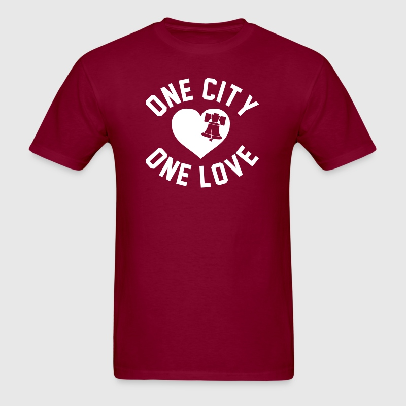 One City One Love - Men's T-Shirt