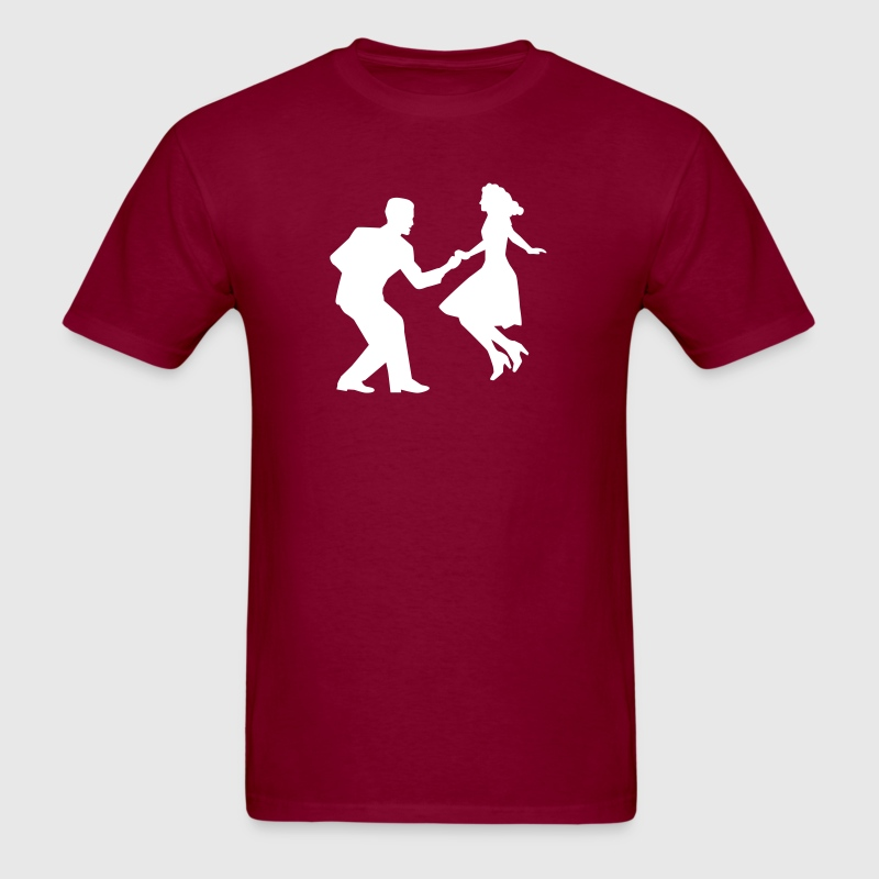 Swing dance - Men's T-Shirt