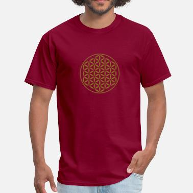 Proportions Flower Of Life - vector kompact - Men's T-Shirt