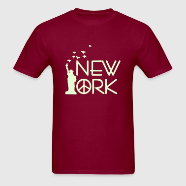 NEW YORK statue of liberty - Men's T-Shirt