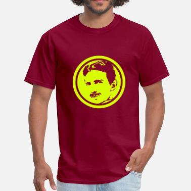 362b5625 Men's Organic T-Shirt. Nikola Tesla. from $31.49. Nikola Tesla - Men's  ...