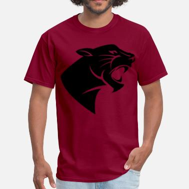 Black Panther Party Panther Silhouette - Men's T-Shirt