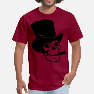Tattoo Top Hat Skull - Men's T-Shirt