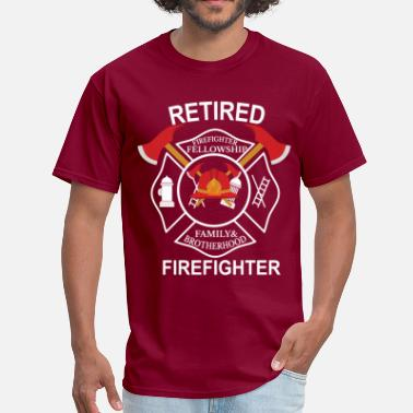 Firefighter  Retired firefighter - Men's T-Shirt
