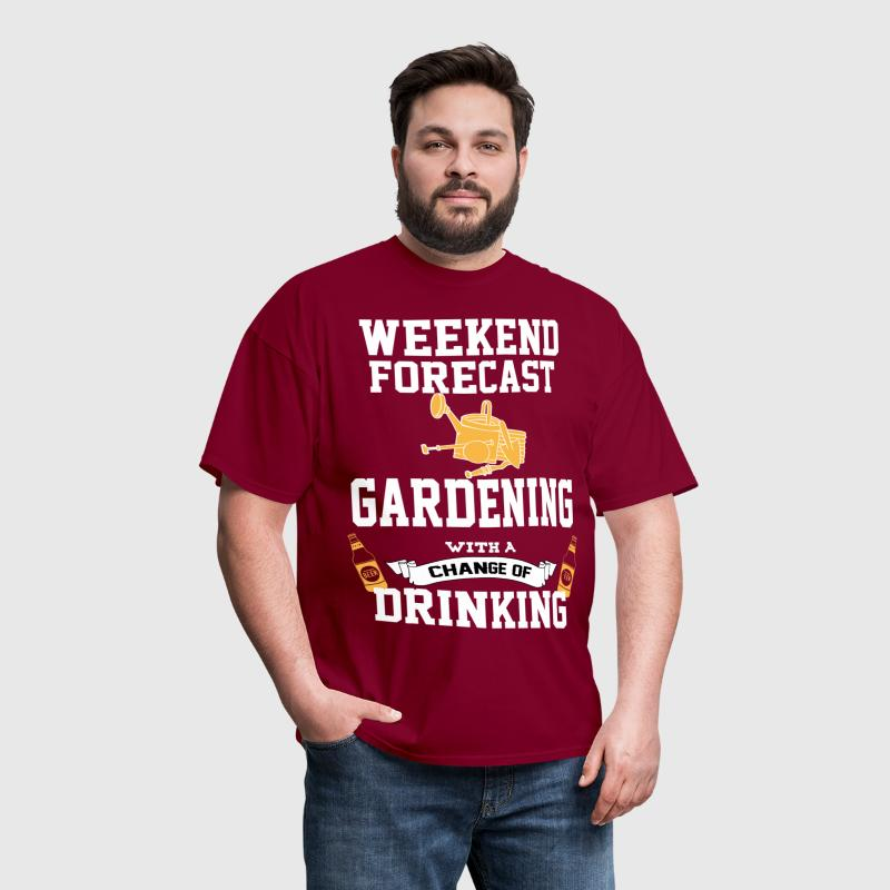 Gardening With A Chance Of Drinking - Men's T-Shirt