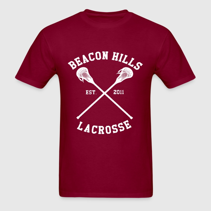 Isaac Lahey Lacrosse Shirt - TEEN WOLF - Men's T-Shirt