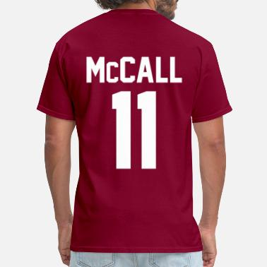 Tyler Posey Scott McCall Lacrosse Shirt - TEEN WOLF - Men's T-Shirt