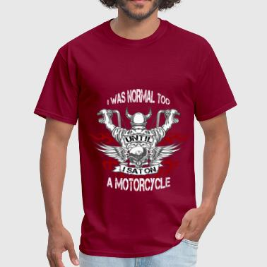 Motorcycles - Sat On - Men's T-Shirt