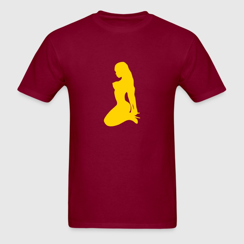 Sexy Girl Silhouette - Men's T-Shirt
