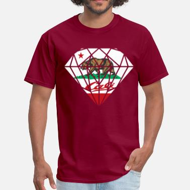 California Diamond California Diamond Bear - Men's T-Shirt