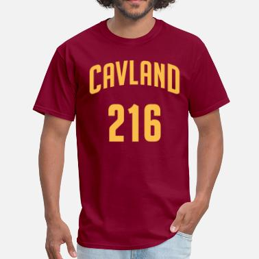 Cleveland Cavland 216 T-Shirt - Made in USA - Men's T-Shirt