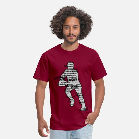 Rugby T-Shirts - Rugby  - Men's T-Shirt burgundy