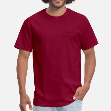 Breast Pocket shirt pocket - Men's T-Shirt