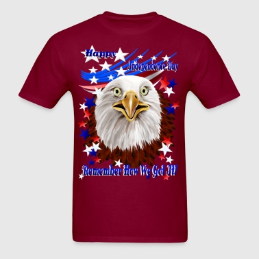 Grand Ol' Eagle-Independence Day - Men's T-Shirt
